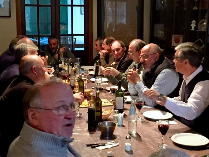 Almuerzo dirigentes CRAR - Duendes