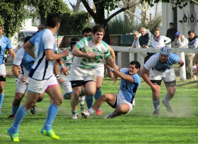 Rugby - CRAR vs Rowing 4